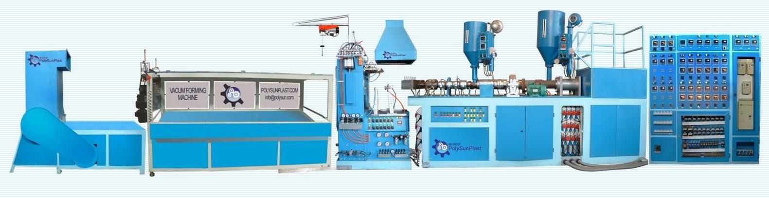 دستگاه تولید ظروف یکبارمصرف نیمه فرمینگ